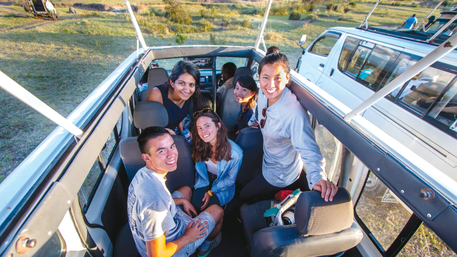 Nguyen and his Georgetown classmates traveled to Kenya to assist economics professor William Jack with a road safety project