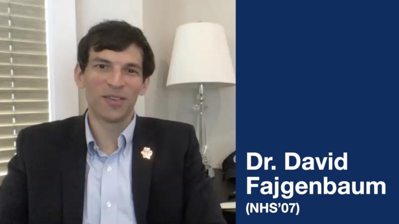 Dr. David Fajgenbaum (NHS'07)