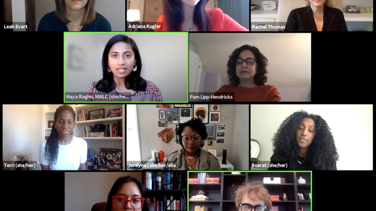 Women's Forum Screenshot